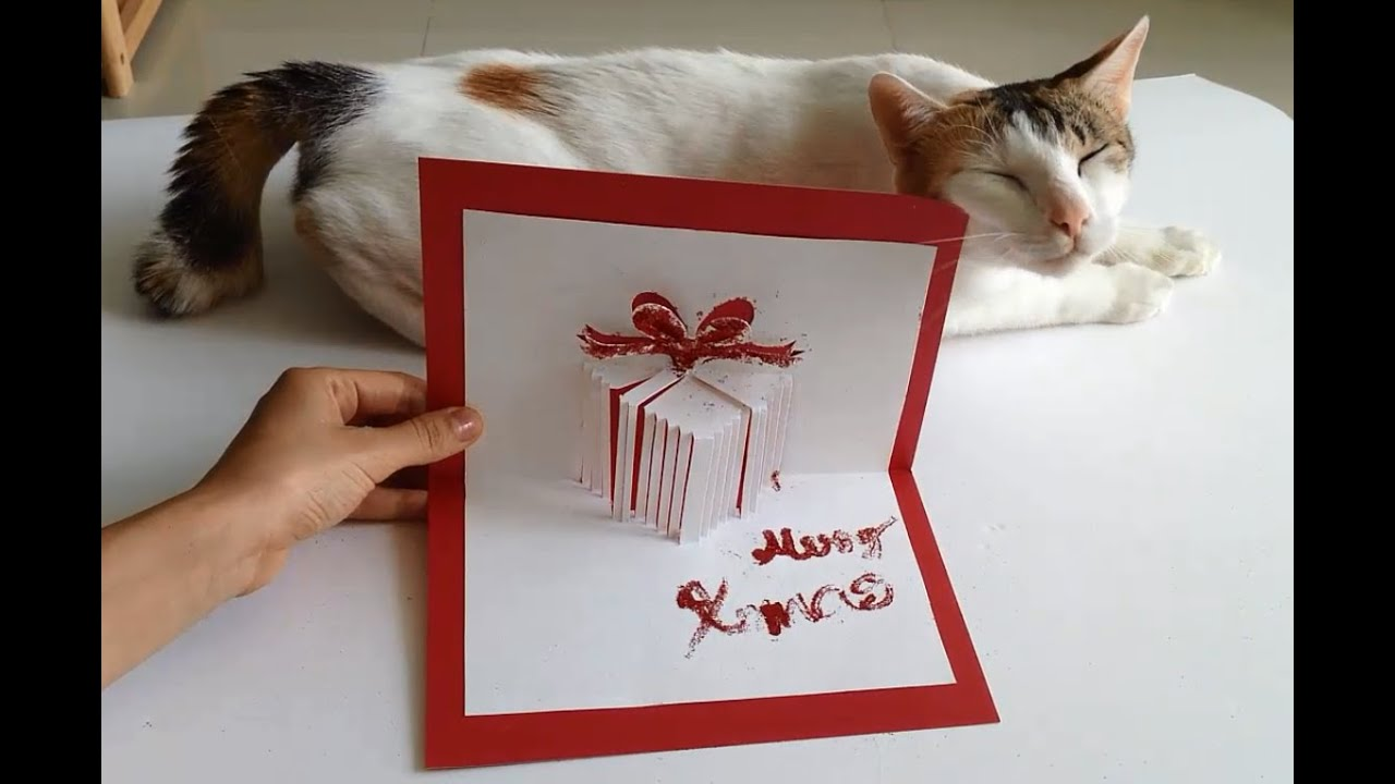 How To Make Handmade Pop Up Christmas Cards