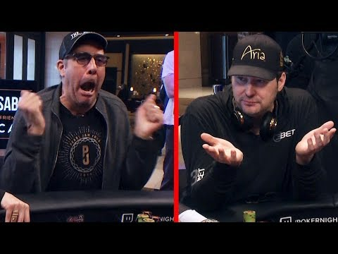 Brad Garrett SCOLDS bratty Phil Hellmuth  Poker Night in America S5 E17