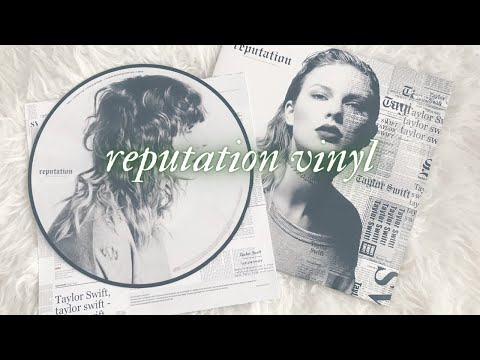 REPUTATION PICTURE DISC VINYL!! | Sangeeta