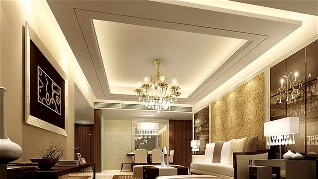 False Ceiling Designs For Hall - YouTube