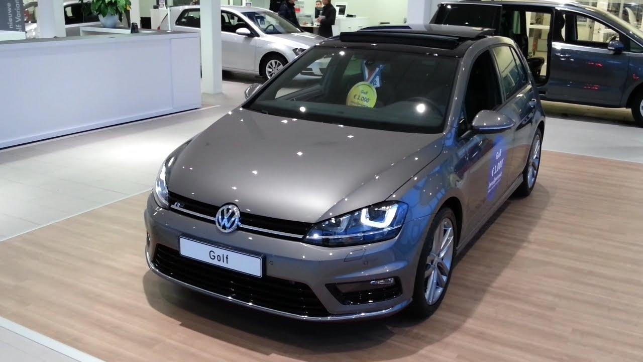 volkswagen golf 7 r line 2015 in depth review interior. Black Bedroom Furniture Sets. Home Design Ideas