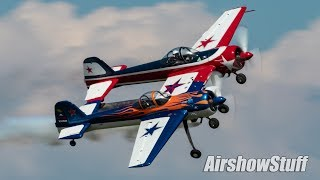 Pilot Jeff Boerboon debuts the unique Yak-110 with an aerobatic per...