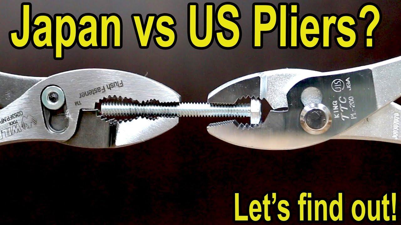 Best Pliers (SLIP JOINT)? US vs Japan, Vampliers, Kobalt, Irwin, Stanley, Tekton, Martin