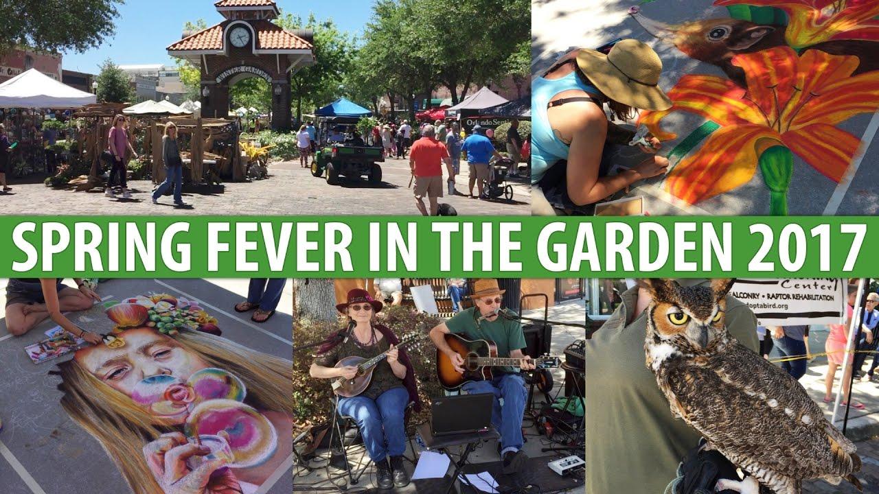 spring fever in the garden 2017 winter garden fl 04 08 17 youtube