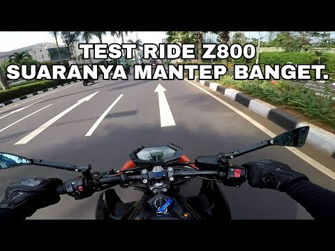 #vlog57 - Test Ride Z800 (part 1)