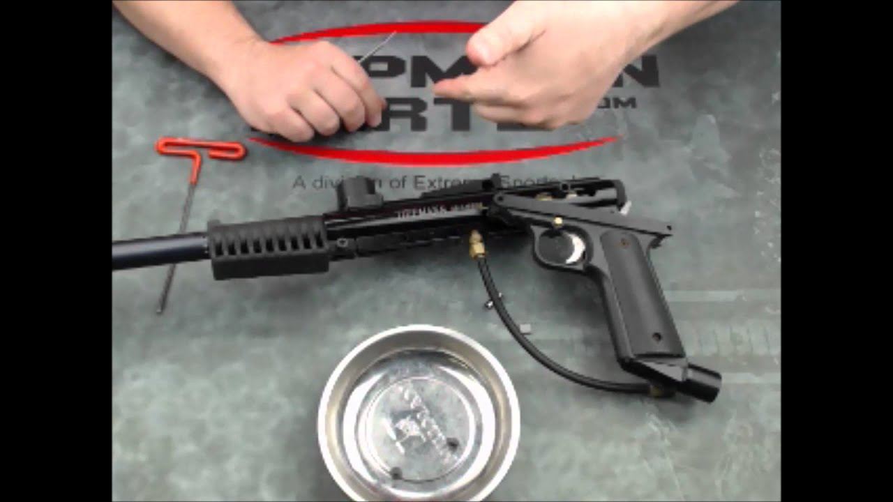 Tippmann 68 Carbine Valve Removal Youtube 98 Custom Parts Diagram
