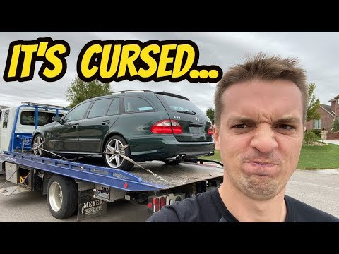 My Cheap Mercedes E63 Wagon Might Be the Worst Car I Have Ever Owned ***BROKEN AGAIN***