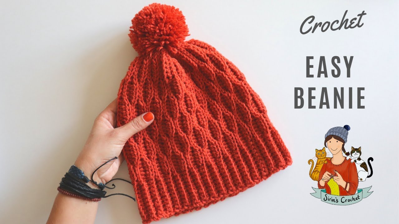 Crochet Beginner Friendly Beanie   Hat - YouTube cde131a8a22
