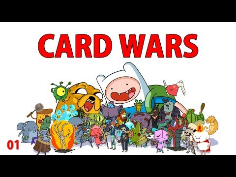 Adventure Time : CARD WARS w/ SwimmingBird941 01 - iOS iPhone iPod iPad Android