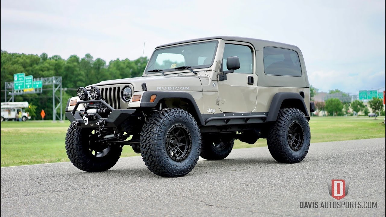 davis autosports 2006 jeep wrangler unlimited rubicon / lifted