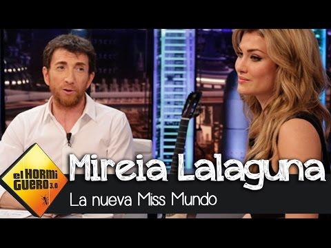 """Mireia Lalaguna: """"Estoy acostumbrada a dejar a los hombres con la boca abierta"""" - El Hormiguero 3.0"""