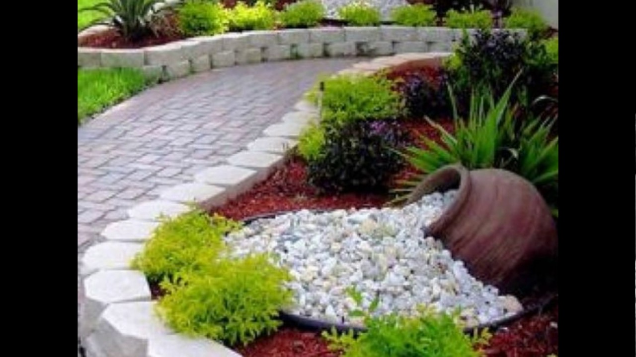 Hermosas decoraciones para patio y jardines youtube for Jardines pequenos originales