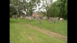 St Mary's churchyard, Polstead, Suffolk