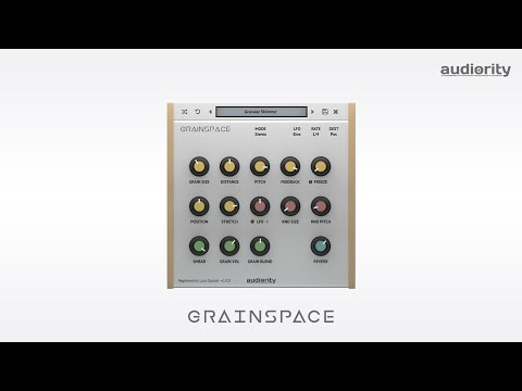 Audiority GrainSpace - Granular Reverb Processor - Demo