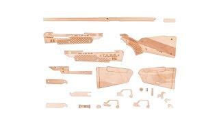 Інструкція по збірці гвинтівки з дерева FORESTER від T. A. R. G.
