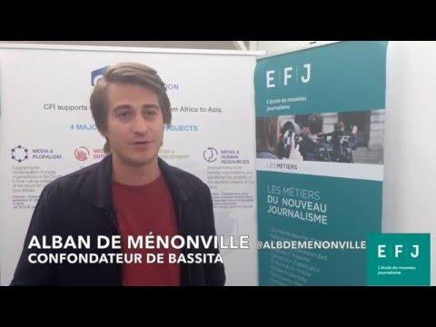 Interview Alban de Ménonville, co-fondateur de Bassita à #4MParis