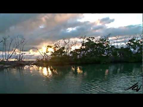 Banco Chinchorro Mexico Sunset - YouTube HD