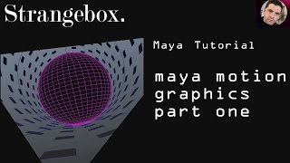 Maya and motion graphics elements part 1