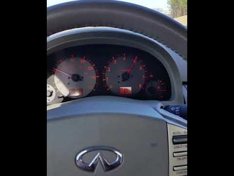 Infiniti G35 coupe acceleration
