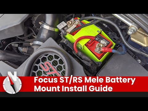 2012-2018 Ford Focus: How To Install a MeLe Lightweight Battery Box