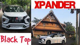 Xpander 04# Black Top Xpander Sticker Oracal Warna Hitam Doff