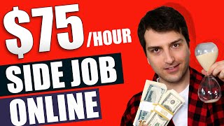 How to Make $30-$75 Per Hour Online Part Time (Slapping Keys on Your Keyboard)