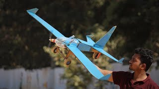 How to make a Airplane using Plastic Bottle and Cardboard