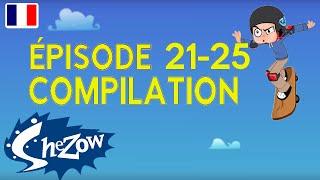SheZow en Français | 1 heure Compilation vidéo (épisodes 21 à 25) | HD