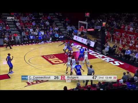Austin Nehls CCSU Sophomore Highlights 2016-2017