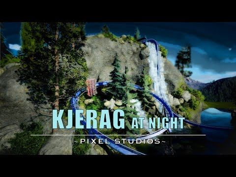 Kjerag At Night - Planet Coaster [Dive Coaster]
