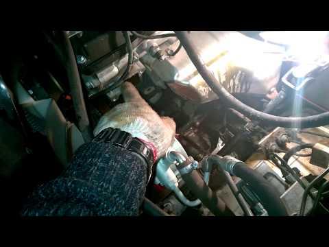 УАЗ Патриот: замена термостата