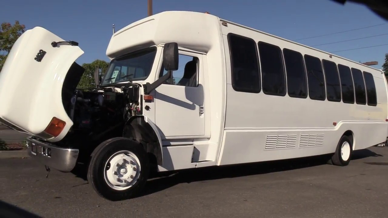 26 Passenger Shuttle Bus - Piedmont Limo & Tours  |Passenger Shuttle Buses
