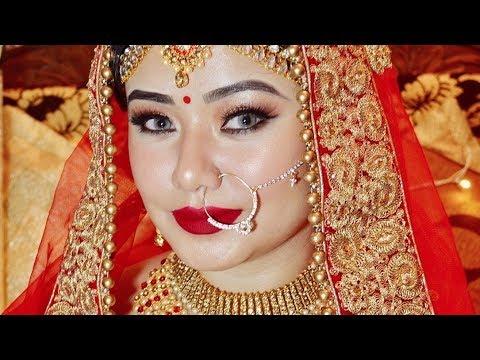 Indian Bridal Makeover + Makeup Tutorial 2019