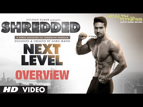 SHREDDED NEXT LEVEL – Program Overview | Guru Mann | Health and Fitness