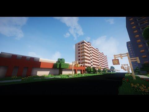 Русский город в Minecraft - 167 - Объединение №2