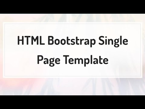 bootstrap dating template free download