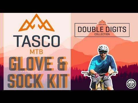 TASCO MTB Double Digits Glove and Sock Kit 🚲 - YouTube
