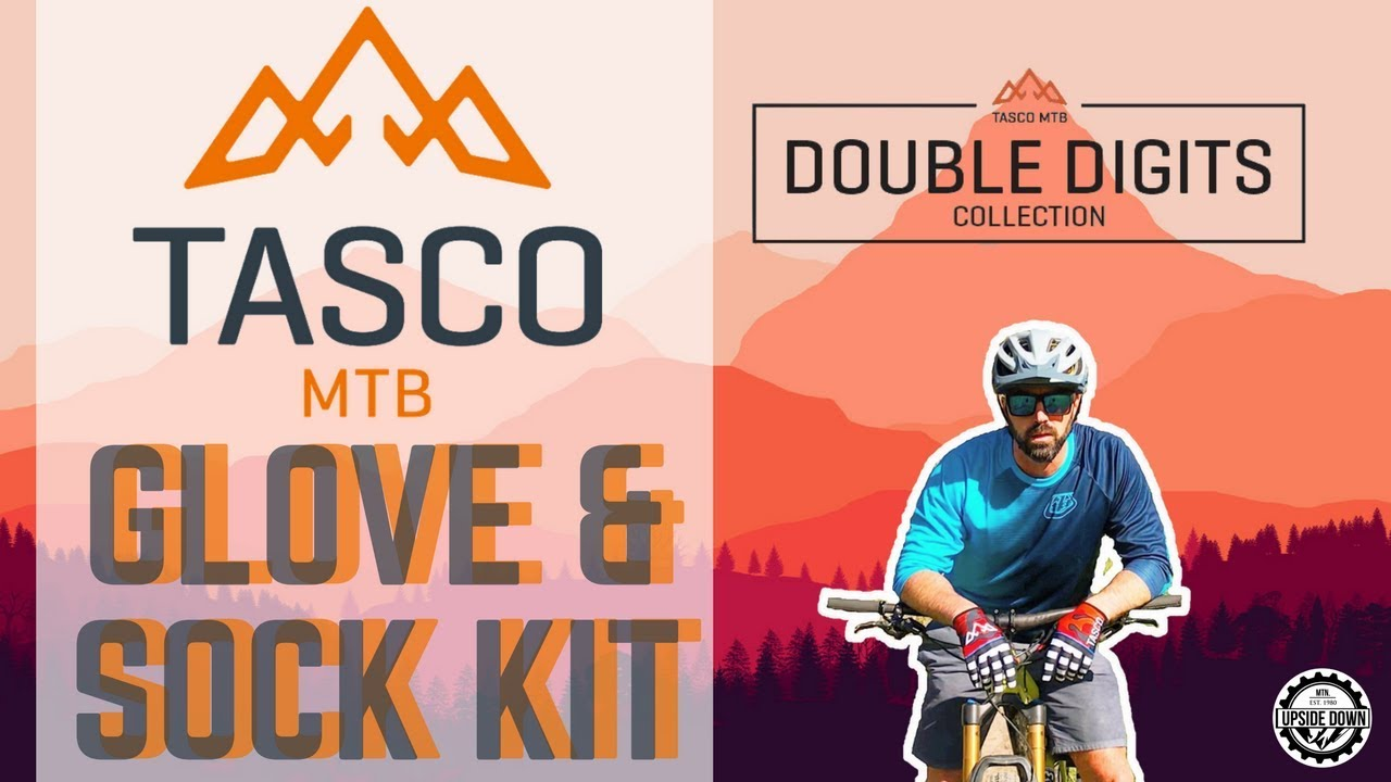TASCO MTB Double Digits Glove and Sock Kit 🚲