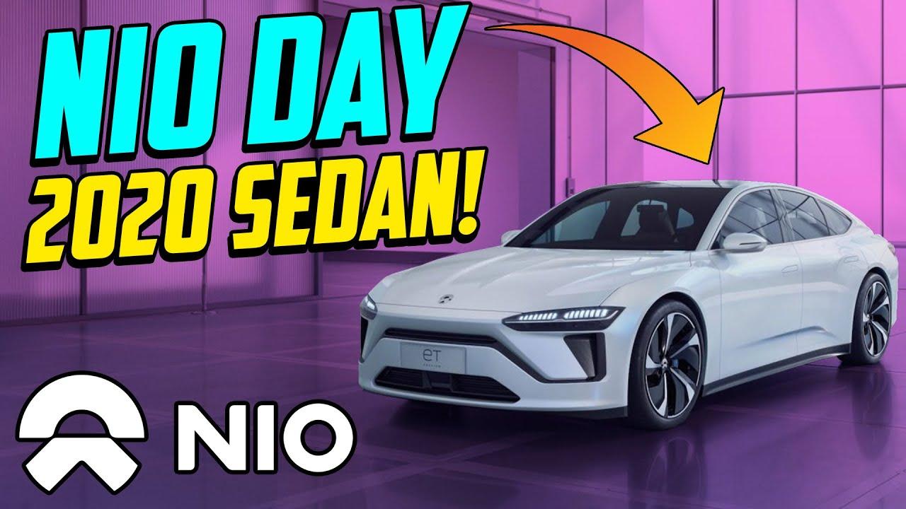 Huge News For Nio Stock Nio Day 2020 New Sedan Youtube