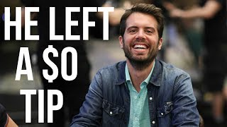 Would You Tip if You Won $5.1 MILLION in a Poker Tournament?!