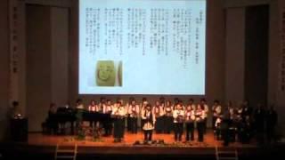 2010年10月31日に三木記念ホールで行なわれた地球平和フォーラムにて 作...