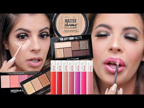 NEW MAYBELLINE MAKEUP | HIT OR MISS DRUGSTORE 2017 thumbnail