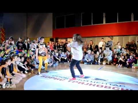 AQUA / Hip Hop Battle Junior - Marija Petrevska - International Macedonia Open 2014