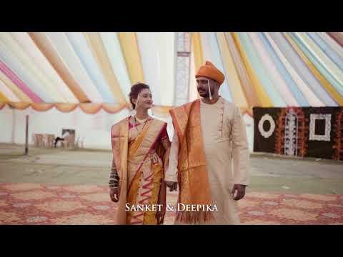 Best wedding cinematic teaser Sanket + Deepika  MGF Films Photography 7875455363/8999810016