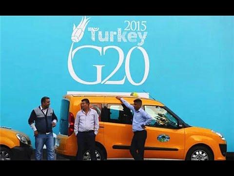 Líderes del G-20 en Antalya para cumbre...