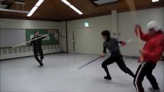 アクション・殺陣教室 舞台で使える!棒術&剣術 基本と立ち回り