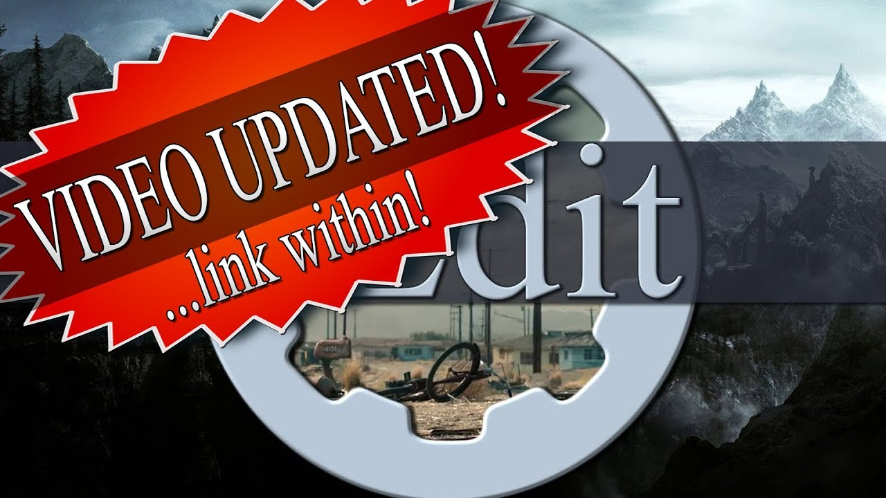 Archived Xedit Tes5edit Fo4edit Update Video Linked Youtube However, mod organizer 2 is pretty new and i'm not sure just how quality it is. archived xedit tes5edit fo4edit update video linked