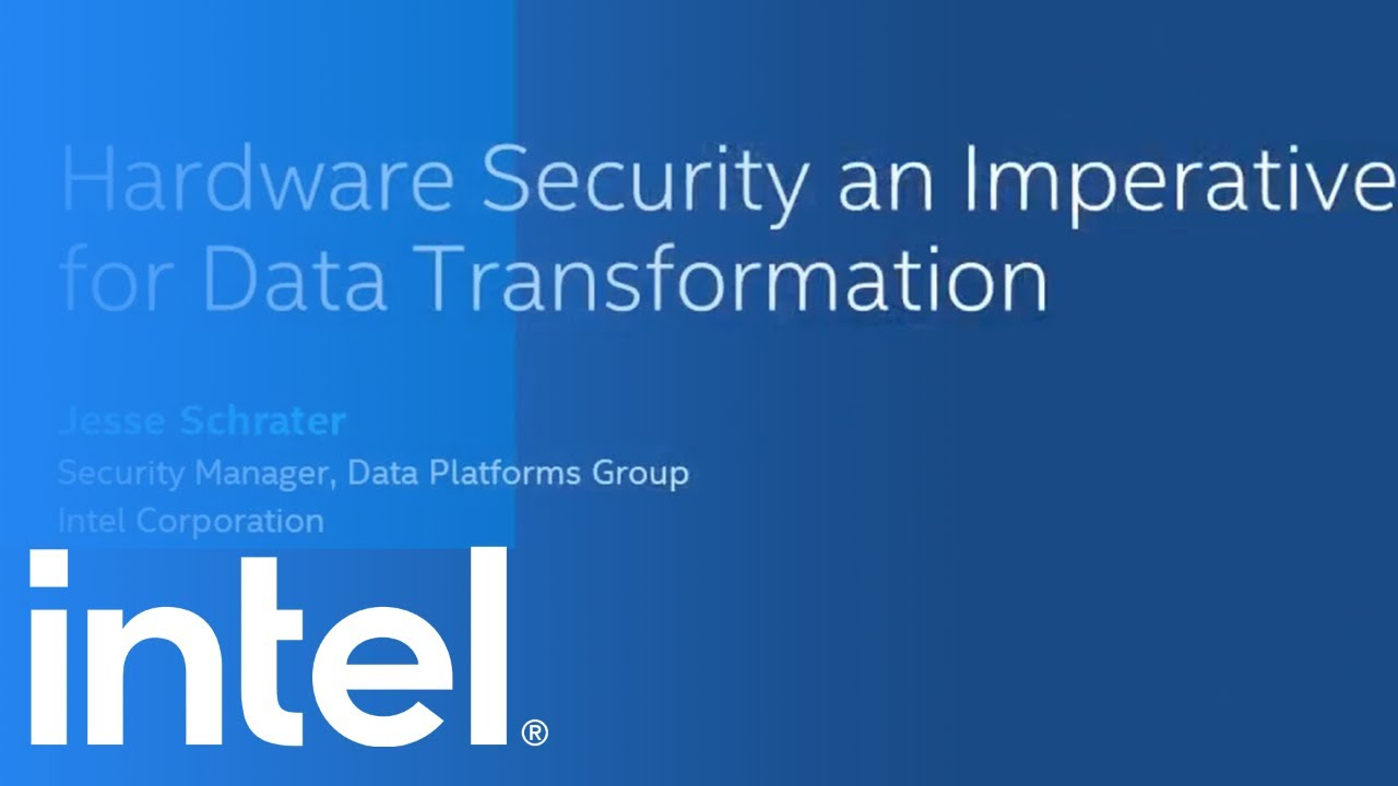 Hardware Security: Imperative for Transforming Data - Digital Transformation: Ep 27   Intel Business