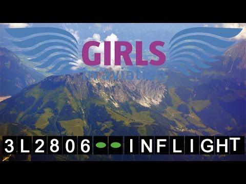 InterSky Dash 8 Rundflug Girls in Aviation | Flughafen Graz InFlight