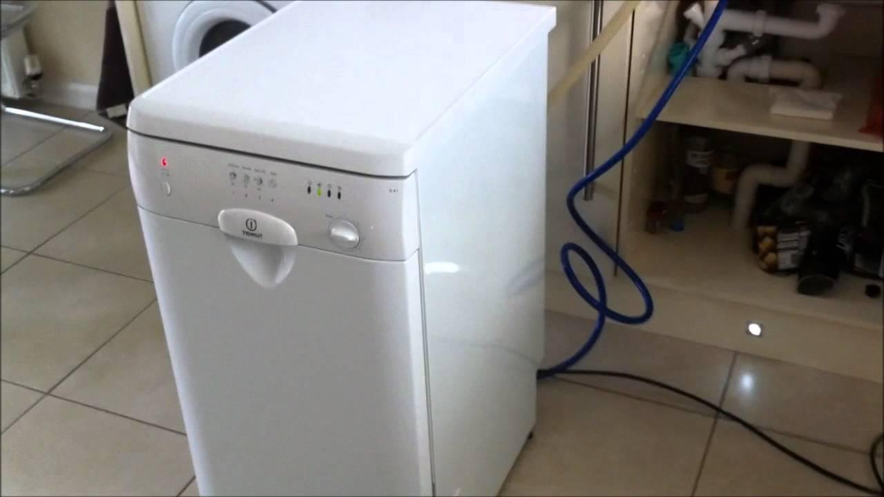 Indesit D41 Slimline Dishwasher